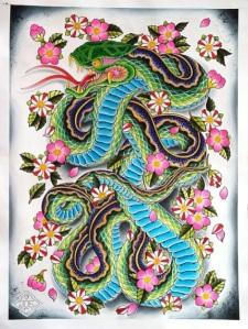 snakepainting