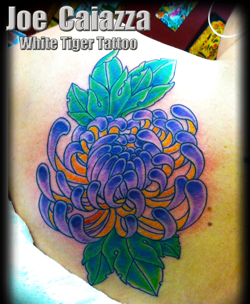 mum tattoo by Joe Caiazza